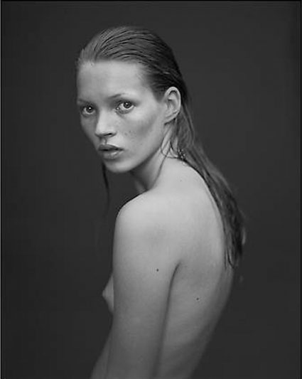 Kate Moss by Mario Sorrenti. Source: danzigerprojects.com