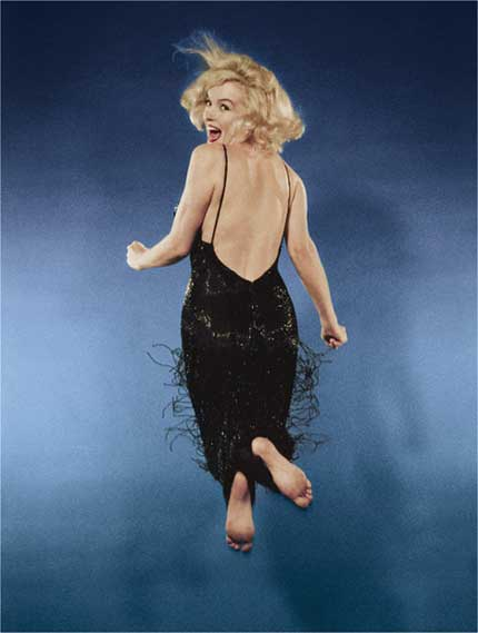 Marilyn Monroe by Phillippe Halsman. Source: laurencemillergallery.com