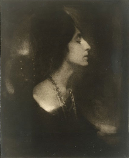 Mercedes de Cordoba (Profile) by Edward Steichen. Source: metmuseum.org