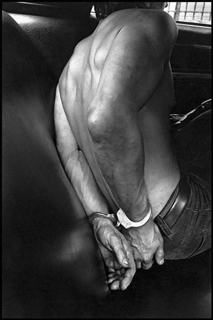 Handcuffed, New York City by Leonard Freed. Source: mcny.org