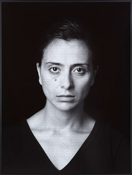 Nazy by Shirin Neshat. Source: gladstonegallery.com