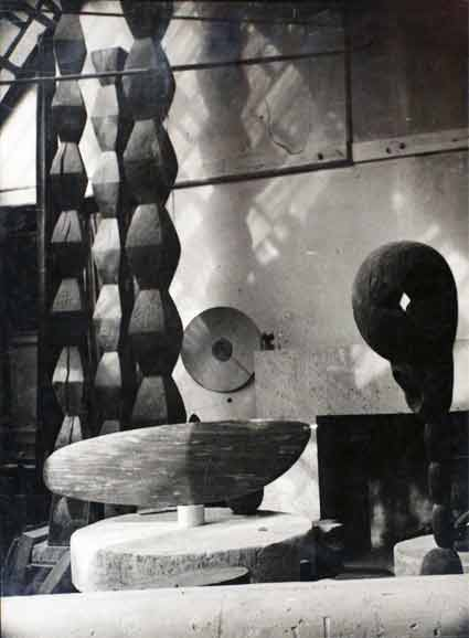 View of the Studio by Constantin Brancusi. Source: brucesilverstein.com