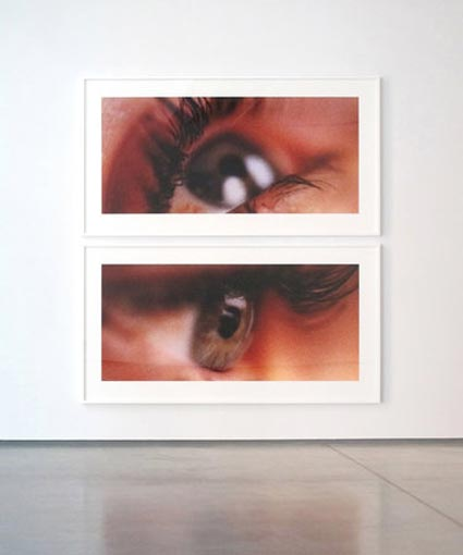 Eye Diptych by Sam Samore. Source: teamgal.com