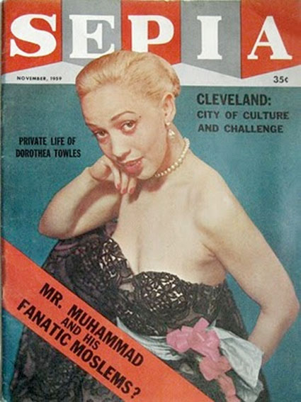 Sepia Magazine, November 1959 by unidentified photographer.