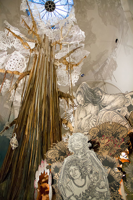 Photo by Swoon . Source: brooklynmuseum.org
